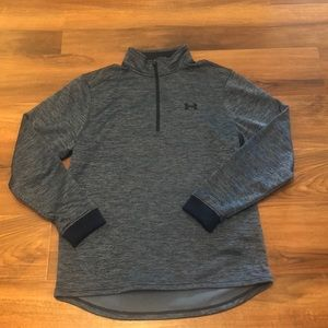 EUC Under Armour size large 1/4 zip shirt